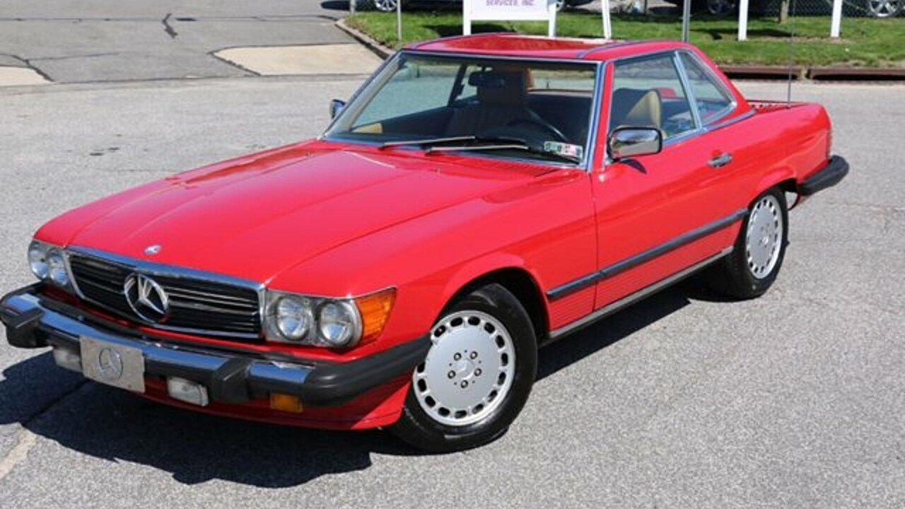 1986 mercedes benz 560sl for sale 100868339