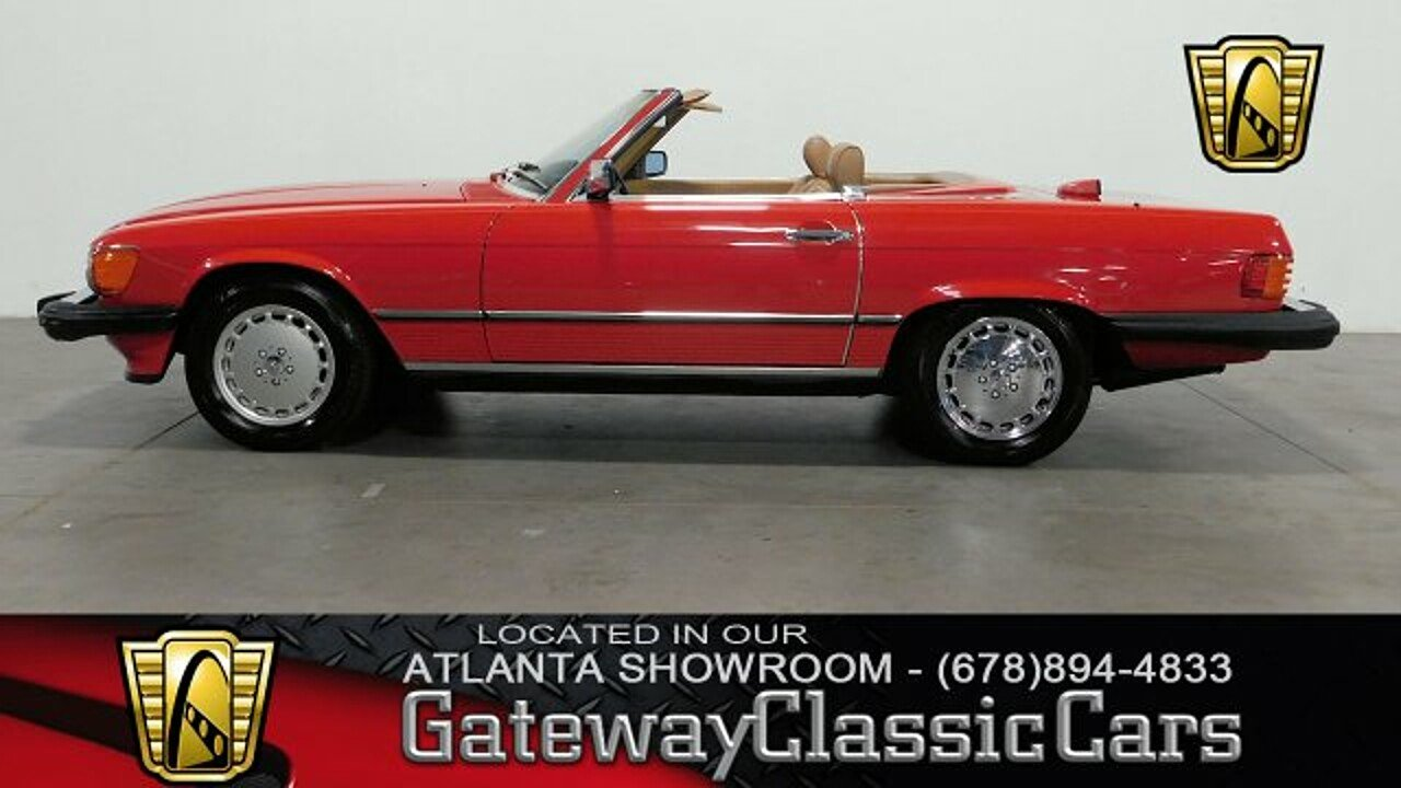 1986 Mercedes-Benz 560SL for sale 100923828