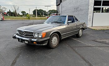 1986 Mercedes-Benz 560SL for sale 101009674