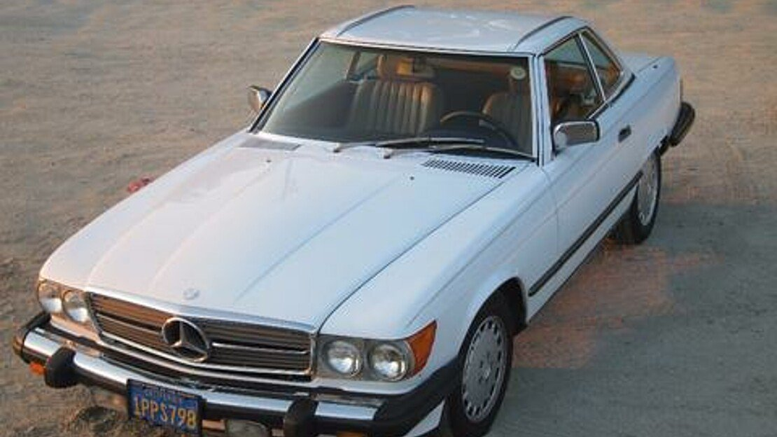 1986 Mercedes-Benz 560SL for sale 101025542