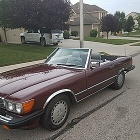 1986 Mercedes-Benz 560SL for sale 100892318