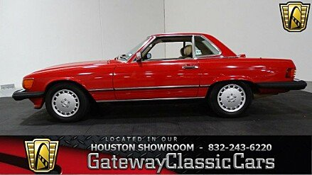 1986 Mercedes-Benz 560SL for sale 100965094
