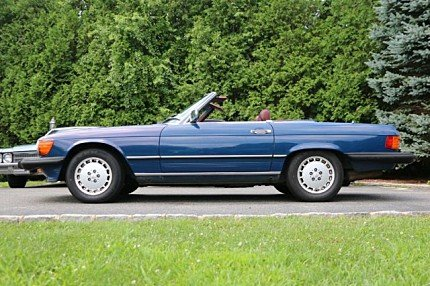 1986 Mercedes-Benz 560SL for sale 101023085