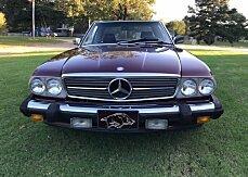 1986 Mercedes-Benz 560SL for sale 101046885