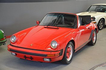 1986 Porsche 911 Carrera Cabriolet for sale 101023124