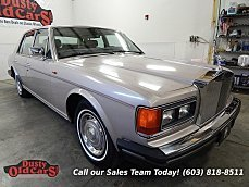 1986 Rolls-Royce Silver Spirit for sale 100731458