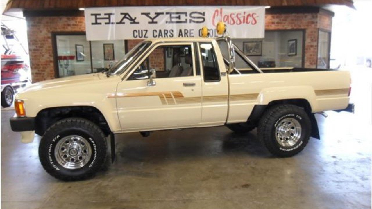 1986 toyota pickup 4x4 xtracab deluxe for sale 100886236