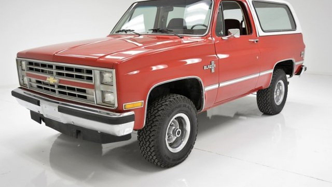 1986 chevrolet Blazer 4WD for sale 100988128