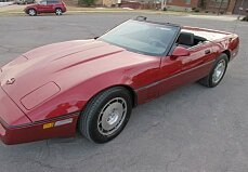 1986 chevrolet Corvette Convertible for sale 100987718
