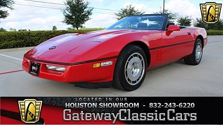 1986 chevrolet Corvette Convertible for sale 101018896