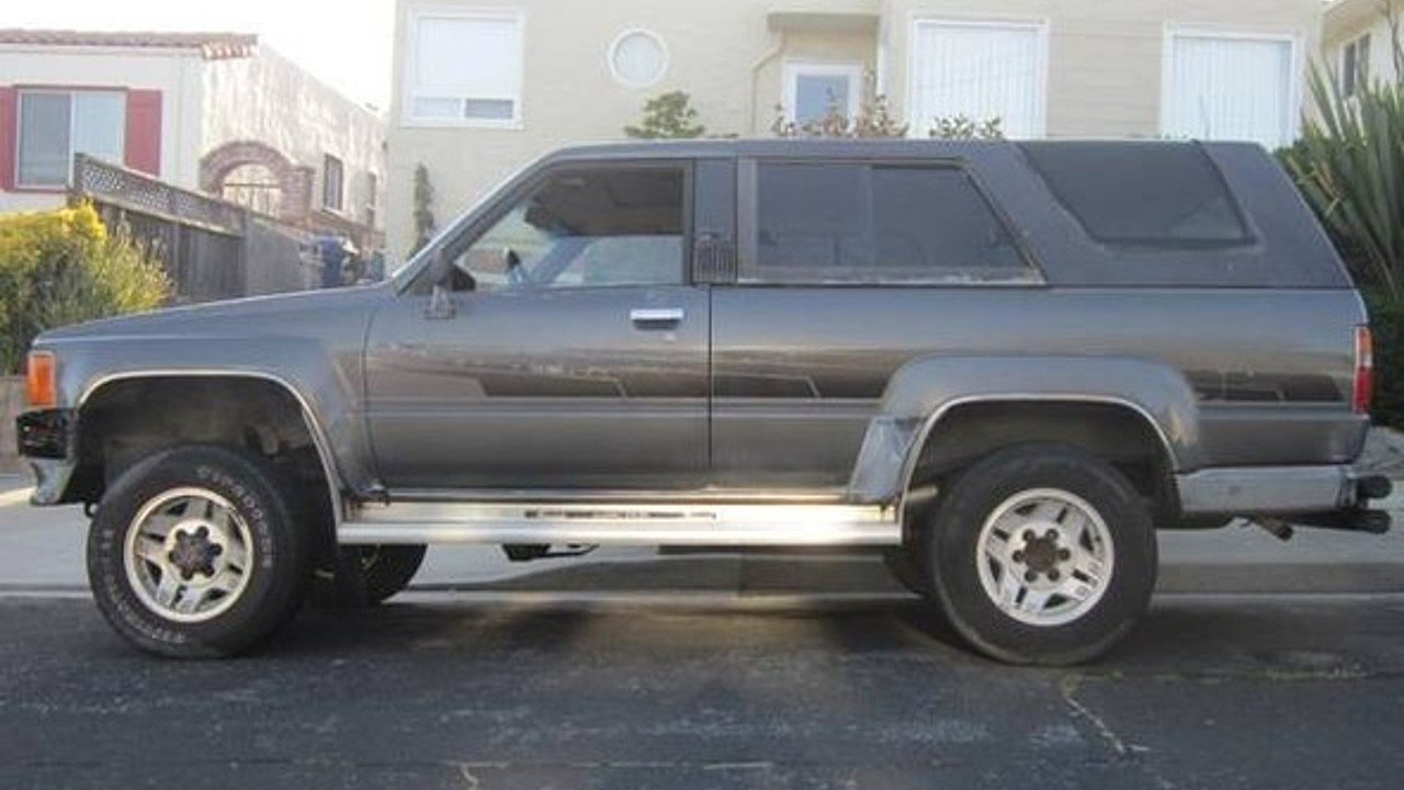 1986 toyota 4Runner 4WD SR5 Turbo for sale 100998043