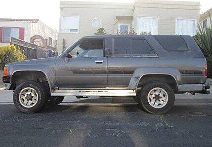 1986 toyota 4Runner 4WD SR5 Turbo for sale 100998043