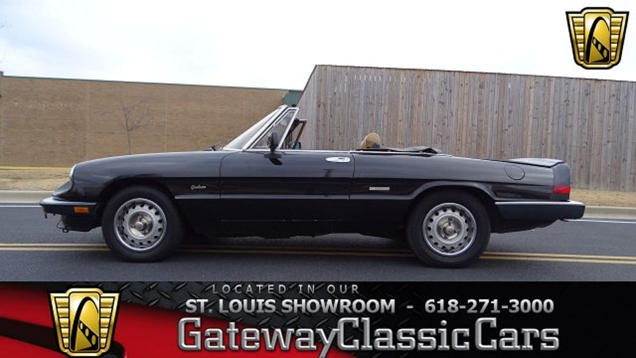1987 Alfa Romeo Spider Graduate for sale 100965433