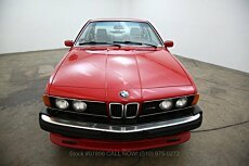 1987 BMW M6 for sale 100842562