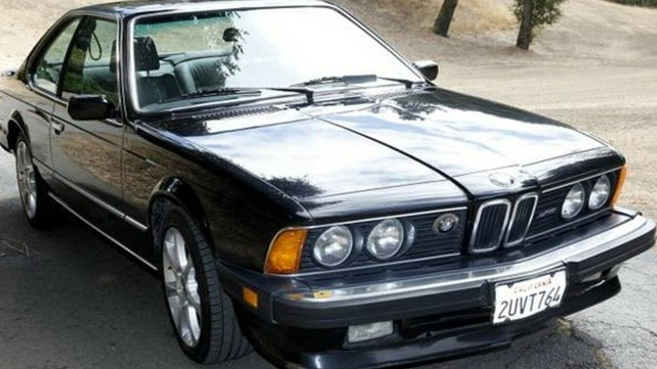 1987 bmw m6 coupe for sale near woodland hills california 91364 classics on autotrader. Black Bedroom Furniture Sets. Home Design Ideas