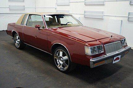 1987 Buick Regal Coupe for sale 100814304