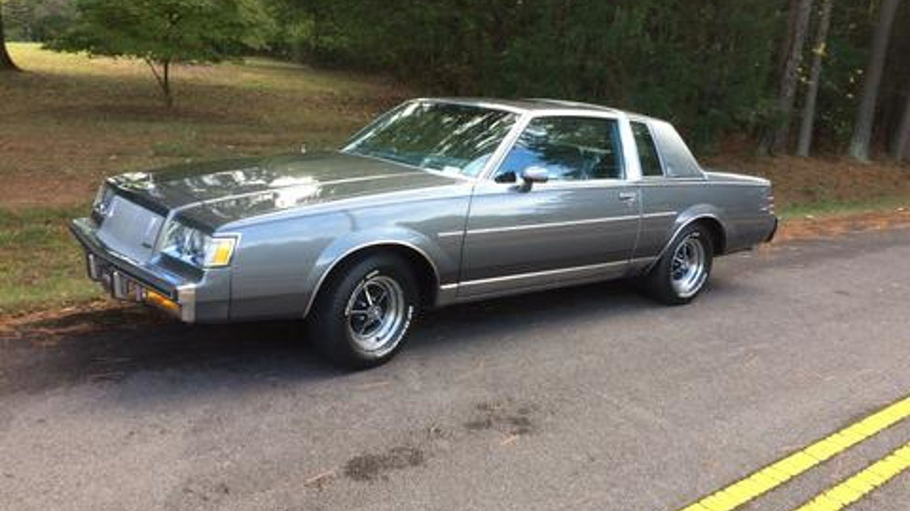 1987 Buick Regal Limited Coupe for sale 101002873