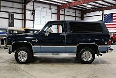 1987 Chevrolet Blazer 4WD for sale 100863727
