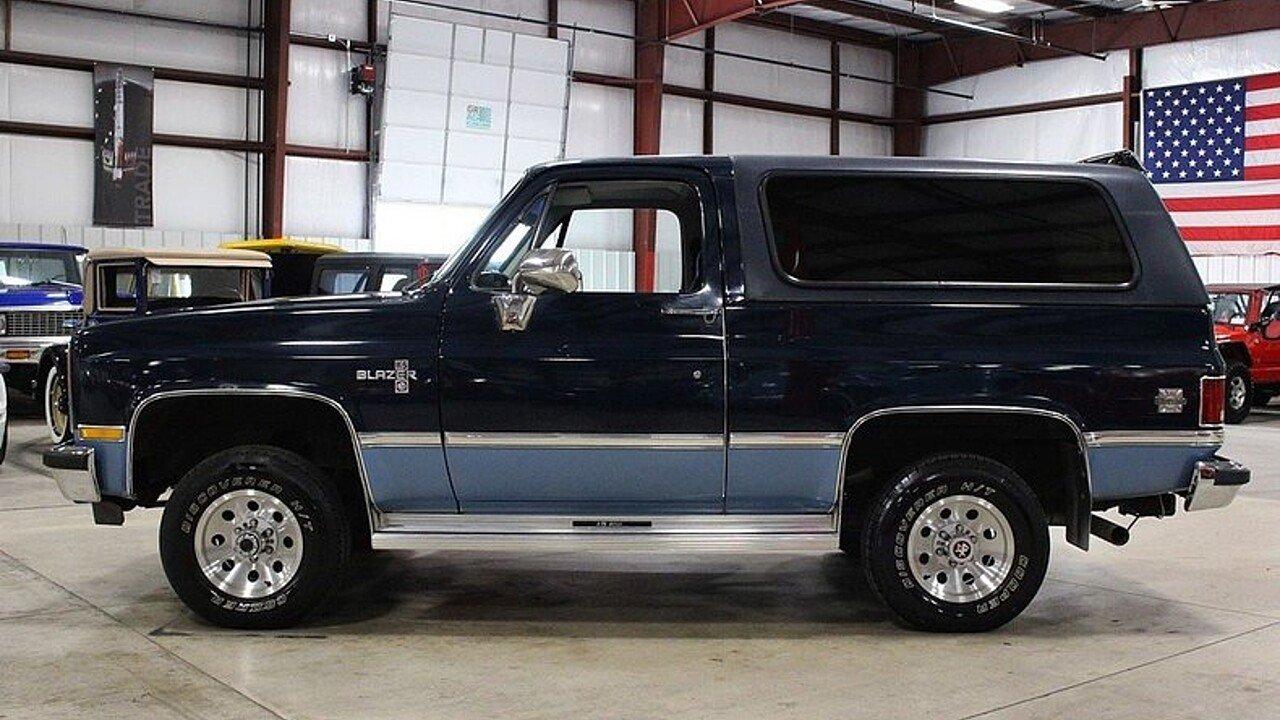 1987 Chevrolet Blazer 4WD for sale near Grand Rapids, Michigan ...
