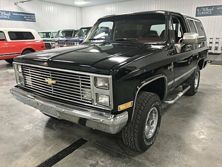 1987 Chevrolet Blazer 4WD for sale 100903330