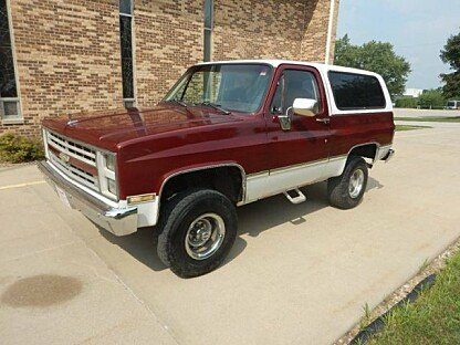1987 Chevrolet Blazer 4WD for sale 101017625