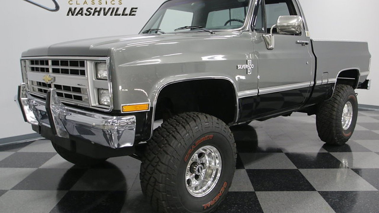 Pickup » 1987 Chevrolet Pickup Truck - Old Chevy Photos Collection ...