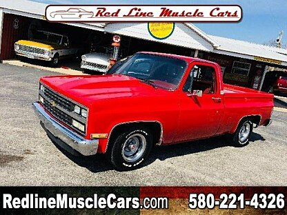 1987 Chevrolet C/K Truck 2WD Regular Cab 1500 for sale 100968422