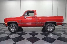 1987 Chevrolet C/K Truck 4x4 Regular Cab 1500 for sale 100975871