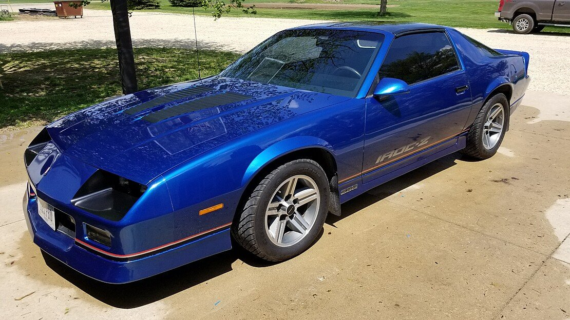 1987 Chevrolet Camaro IROC-Z Coupe for sale 101031191