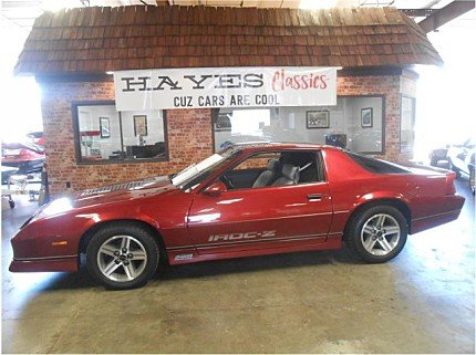 1987 Chevrolet Camaro Coupe for sale 100886279