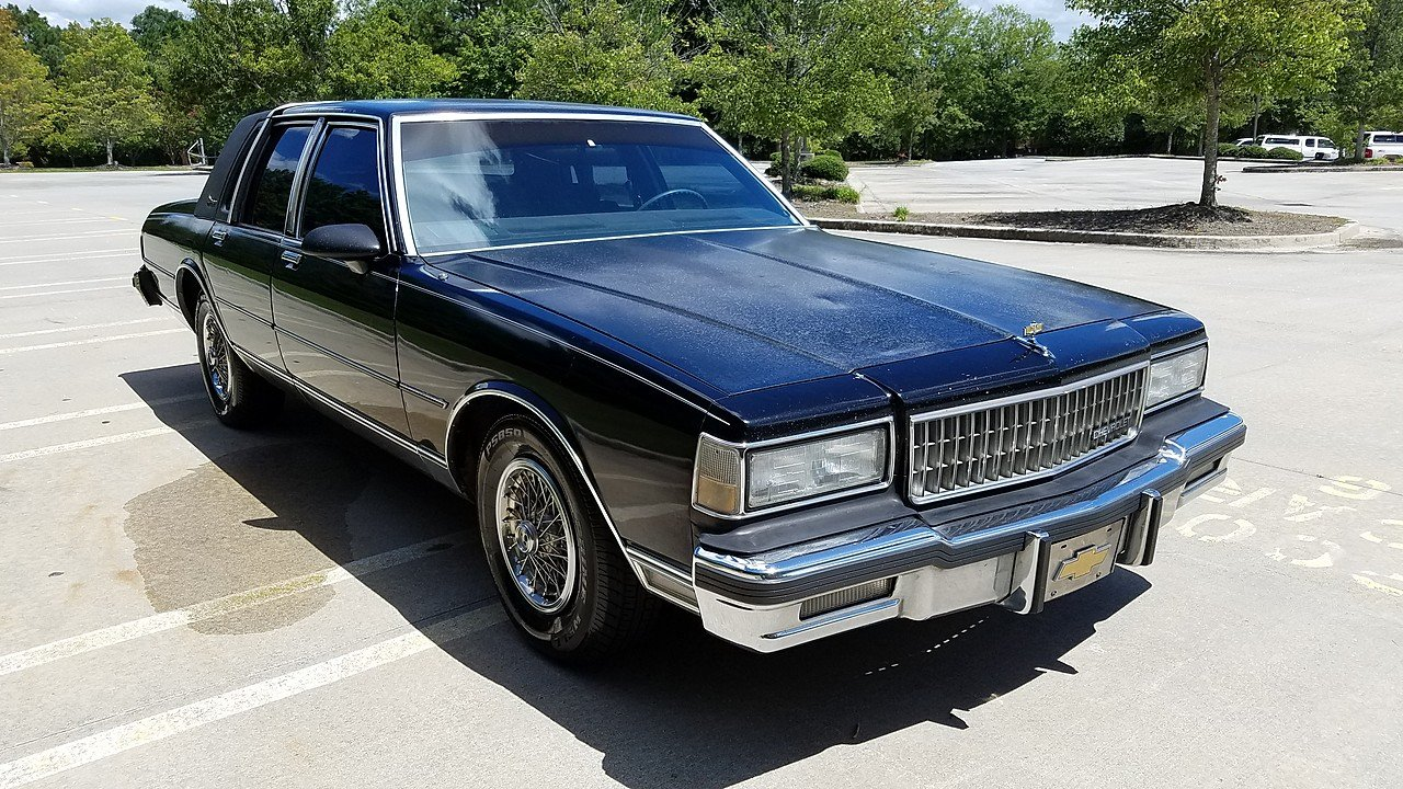 All Chevy 1987 chevrolet caprice classic brougham : 1987 Chevrolet Caprice Classic Brougham Sedan for sale near ...