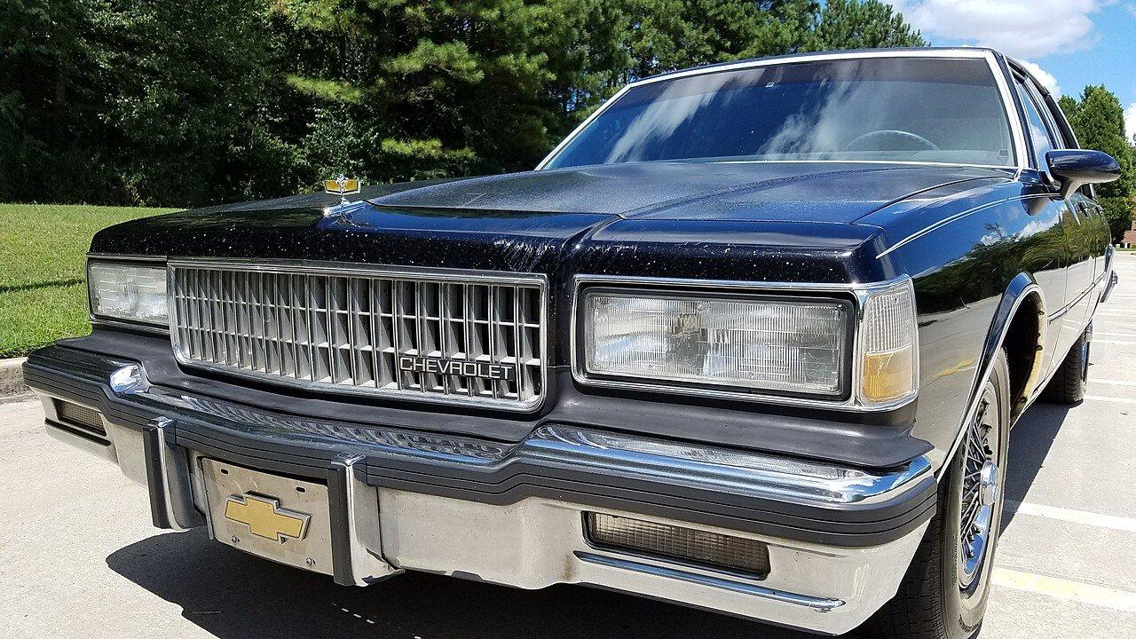 Silverado chevy 1987 silverado : 1987 Chevrolet Caprice Classic Brougham Sedan for sale near ...