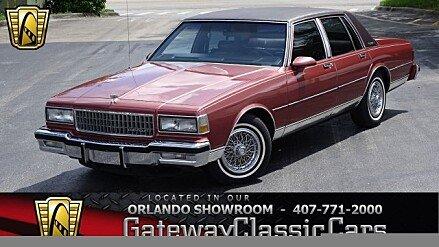 1987 Chevrolet Caprice Classic Brougham Sedan for sale 101026572