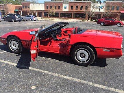 1987 Chevrolet Corvette Convertible for sale 100756215