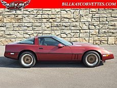 1987 Chevrolet Corvette Coupe for sale 100754307