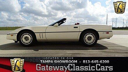 1987 Chevrolet Corvette Convertible for sale 100851511
