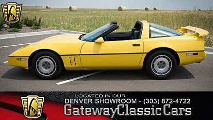 1987 Chevrolet Corvette Coupe for sale 100920825