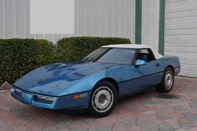 87 corvette for sale