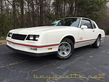 1987 Chevrolet Monte Carlo SS for sale 100849985