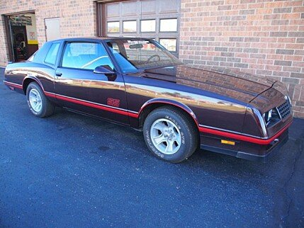 1987 Chevrolet Monte Carlo SS for sale 100780120