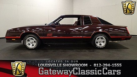 1987 Chevrolet Monte Carlo SS for sale 100920082