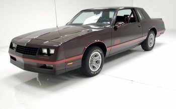 1987 Chevrolet Monte Carlo SS for sale 101003567