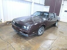1987 Chevrolet Monte Carlo SS for sale 101030199