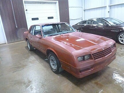 1987 Chevrolet Monte Carlo SS for sale 101041945