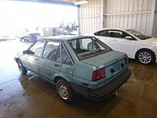 1987 Chevrolet Nova Sedan for sale 100905820