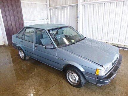 1987 Chevrolet Nova Sedan for sale 100982761
