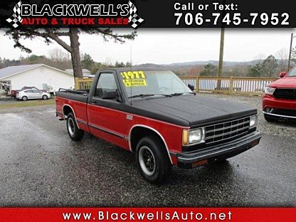 1987 Chevrolet S10 Pickup 2WD Regular Cab for sale 100973801