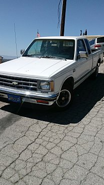 1987 Chevrolet S10 Pickup 2WD Extended Cab for sale 100977962