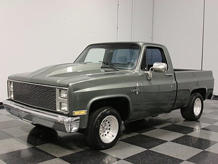 1987 Chevrolet Silverado and other C/K1500 2WD Regular Cab for sale 100760350