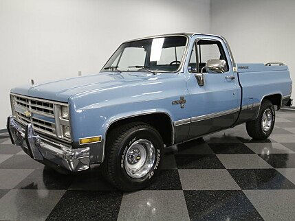 1987 Chevrolet Silverado and other C/K1500 2WD Regular Cab for sale 100798074